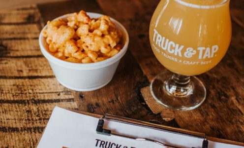Sunday May 26 Truck and Tap Downtown Woodstock