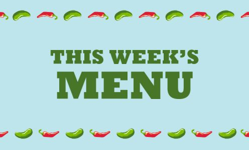 Menu – week of 3/30